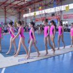 Concurs de gimnastica in sala de sport Corbeanca